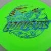 Corvette - Star - 2-Foil XXL - green - star - blue-fracture - dark-red - 175g - neutral - neutral