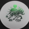 Fox Spirit - white - active - green - 170g - somewhat-domey - neutral