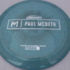 Kong - Paul McBeth Prototype - swirly - esp - silver-dots-small - 170-172g - somewhat-flat - somewhat-stiff