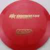 Dominator - red - g-star - gold - 175g - somewhat-domey - somewhat-gummy
