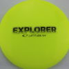 Explorer - yellow - opto - gold - 174g - somewhat-domey - neutral