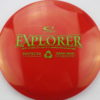 Explorer - red - recycled - green - 174g - somewhat-domey - neutral