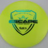 Escape - yellow - fuzion - teal - 174g - somewhat-domey - neutral