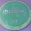 Zeus - Paul McBeth Prototype - silver-dots-small - 173-175g - 3311 - somewhat-flat - somewhat-stiff