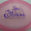Claymore - light-pink - opto - purple - 177g - somewhat-flat - neutral