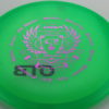 Aftershock - green - special-blend - fuchsia - black - 175-176g - somewhat-puddle-top - somewhat-stiff