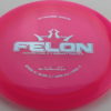 Felon - pink - lucid - silver - 304 - 175g - 3311 - somewhat-flat - neutral