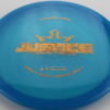 Justice - blue - lucid - gold-lines - 175g - somewhat-flat - neutral