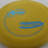 Aviar - yellow - r-pro - blue - 304 - 175g - somewhat-flat - somewhat-gummy