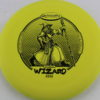 Wizard - yellow - ssss - black - 304 - 174g - super-flat - pretty-gummy