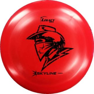 Skyline Outlaw Red with Black stamp