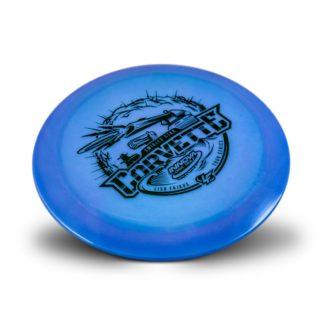 Fajkus Glow Corvette Blue with Black stamp