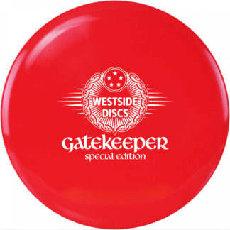 Special Edition Gatekeeper red with white special edition stamp