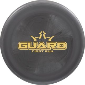 Dynamic Discs Guard - Black First Run Stamp Gold