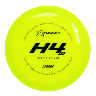 Prodigy H4 V2 - Yellow 400 plastic - Black stamp