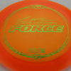 Force – Paul McBeth 4x – Z Line - orange - green-lines - 170-172g - 3311 - neutral - neutral