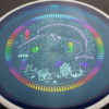 Deflector - Eclipse - Narwhal stamp - blue - glow - eclipse-proton - rainbow - light-blue - light-purple - 175g - super-flat - somewhat-stiff