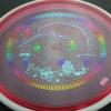 Deflector - Eclipse - Narwhal stamp - pink - glow - eclipse-proton - rainbow - light-blue - light-purple - 175g - pretty-flat - somewhat-stiff