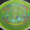 Deflector - Eclipse - Narwhal stamp - yellowgreen - glow - eclipse-proton - rainbow - light-blue - light-purple - 175g - super-flat - somewhat-stiff