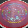 Deflector - Eclipse - Narwhal stamp - pink - glow - eclipse-proton - rainbow - light-blue - light-purple - 175g - super-flat - somewhat-stiff