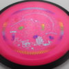 Photon - Neutron - Narwhal Stamp - pink - black - rainbow - teal - purple - 166g - somewhat-flat - neutral