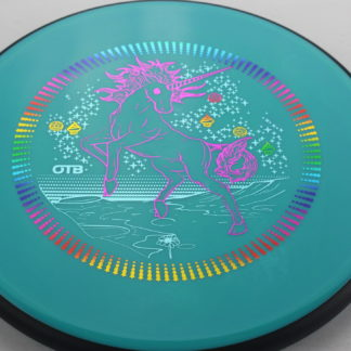 Unicorn Entropy Teal with triple foil stamp MVP