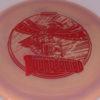 Thunderbird - Swirly Star - Jeremy Koling 2019 - swirly - star - red - 175g - somewhat-domey - somewhat-gummy