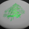 Star Wars - Discraft - challenger - white - d-line - green-fracture - 304 - 170-172g - 3311 - pretty-flat - neutral