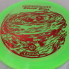 Hurricane - Swirl Proline - Shasta Criss - red - 173-175g - somewhat-domey - pretty-gummy