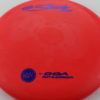 Steady - red - stone - blue - 173-175g - pretty-flat - pretty-stiff
