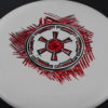 Star Wars - Discraft - challenger - white - d-line - red-fracture - black - 173g - 3311 - super-flat - somewhat-stiff