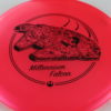 Star Wars - Discraft - buzzz - redpink - z-line - black - 304 - 170-172g - 3311 - somewhat-flat - neutral