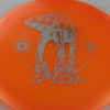 Star Wars - Discraft - buzzz - orange - z-line - silver-squares - 304 - 178g - 3311 - neutral - neutral