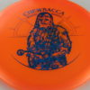 Star Wars - Discraft - buzzz - orange - z-line - blue-pebbles - 304 - 179g - 3311 - somewhat-flat - neutral
