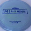 Kong - Paul McBeth Prototype - blue-fracture - 167-169g - somewhat-flat - neutral