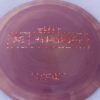 Kong - Paul McBeth Prototype - redsilver-spotted-blocks - 170-172g - somewhat-domey - neutral