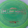Zeus - Paul McBeth Prototype - redsilver-spotted-blocks - 170-172g - 3311 - somewhat-flat - neutral