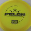 Felon - yelloworange - lucid-air - silver - 304 - 158g - 3311 - puddle-top - somewhat-gummy