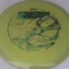 Marksman - Swirly Frontline - swirly - frontline - green-smoke - 175g - somewhat-flat - neutral