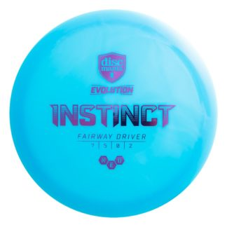 Discmania Instinct - Blue with Purple foil stamp