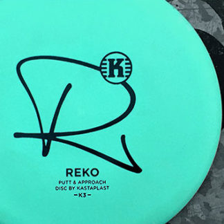 Reko by Kastaplast Mint Green Black Stamp and Graffiti background