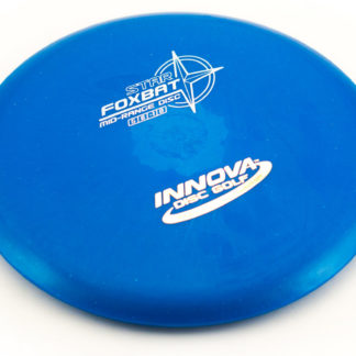 Innova Foxbat Blue with white stamp star plastic