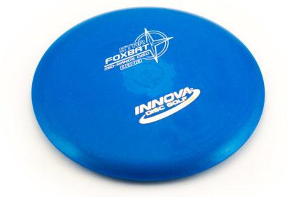 Innova Foxbat Blue with white stamp star plastic
