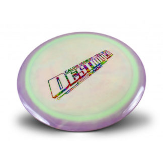 Calvin Heimburg Swirled Star Destroyer Rainbow Jelly Bean Stamp