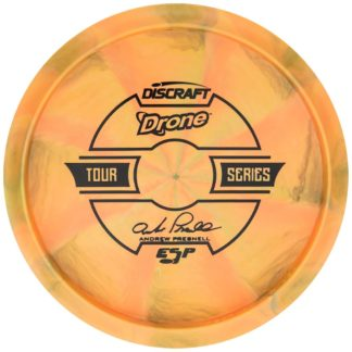 Presnell Drone - Orange Swirl - Black stamp