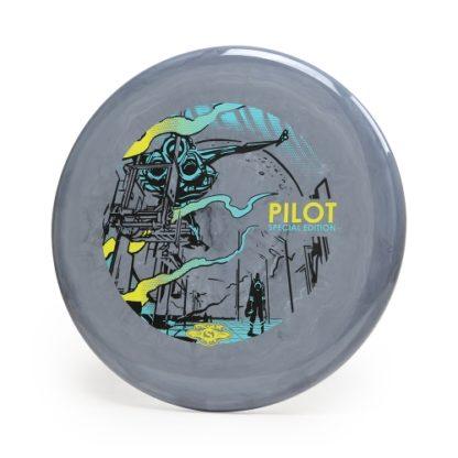 Grey SE Pilot - 3 foil stamp