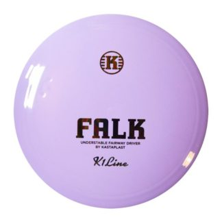 Kastaplast Falk Purple with red stamp