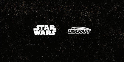 Star Wars and Discraft on stars background