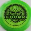 Crank - Glo Sparkle - Ledgestone 2019 - green - black - 173-175g - pretty-domey - neutral