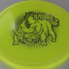 Hawg - yellow - champion - silver - 175g - 3311 - somewhat-domey - neutral